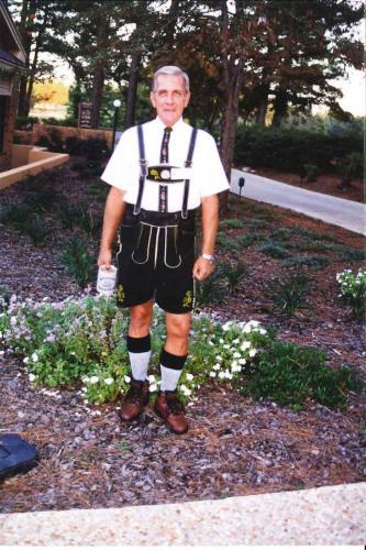 Dad - ready for a CCWP Oktoberfest