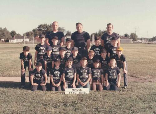 Dad was one of the coaches