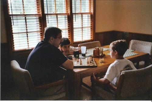 Playing Chess with Eric (7/03)