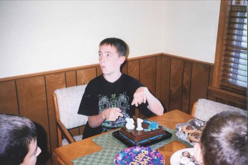 13th Birthday (7/03)