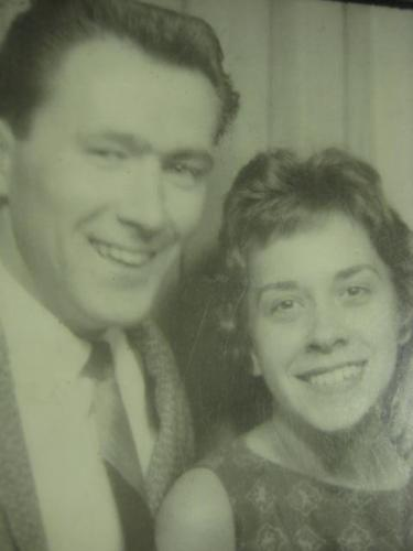 Bob and Sandy in 1960
