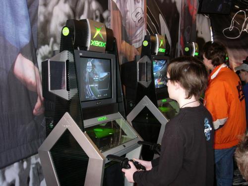 Found a way to play XBox @ Rockingham (2/04)
