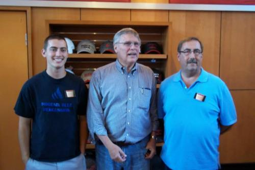 With Dad and Bill Samuels Jr at Makers Mark (6/13)
