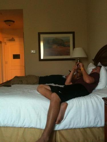 VA Trip - baseball and band competition - another hotel (10/10)