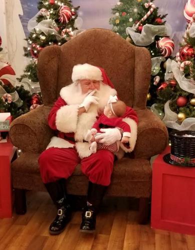 Santa is ready to read