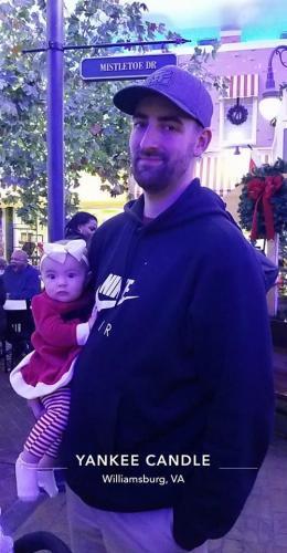 Christmas Village w/Dad