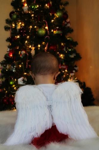 Truly the littlest angel
