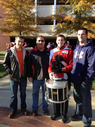 WKU vs AR State with the guys (11/13)