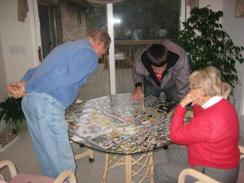 A favorite NC pastime jigsaw puzzles (2/10)