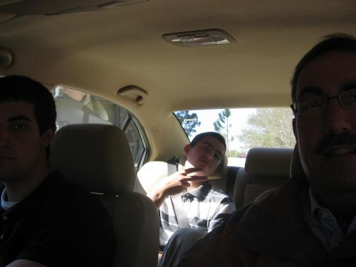 Driving to Feb break in NC (2/10)