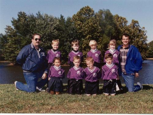 U6 Soccer - with Dad as a coach (9/96)