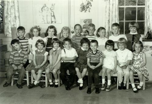 Preschool group photo