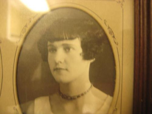 Sylvia Crawford at 18 in 1929