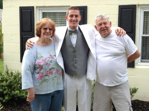 With Bo & Pa before Prom (5/13)
