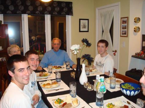 Christmas Dinner in NC (12/09)