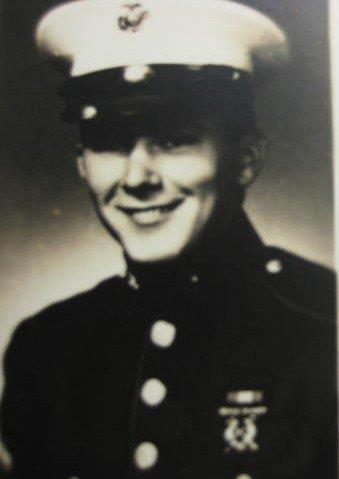 Uncle Bob in US Marines in 1964