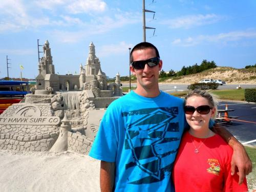 Nags Head Sandcastle
